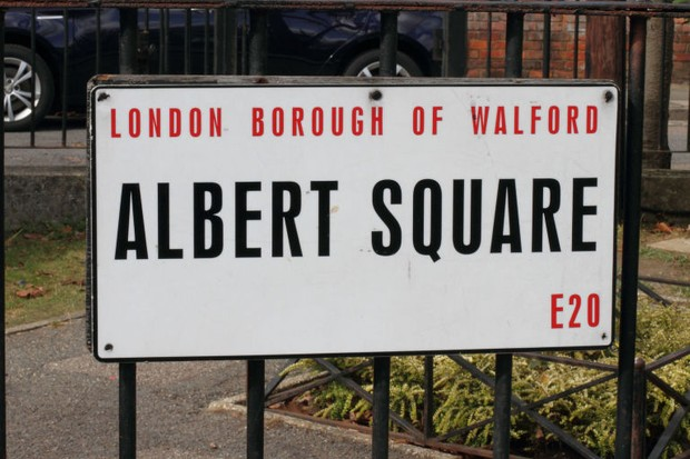 Albert Square - Walford sign