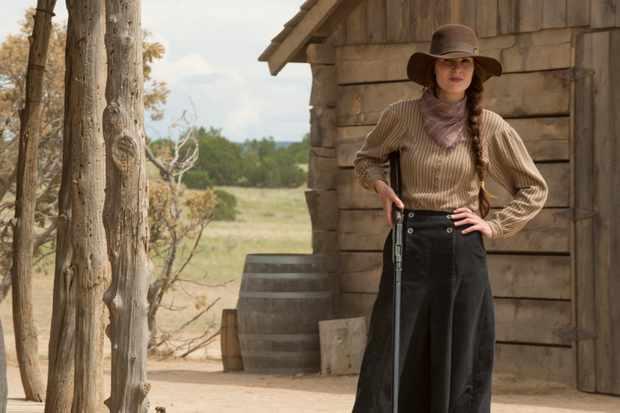Michelle Dockery, Godless (Netflix, BA)