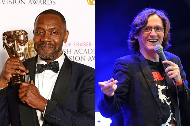 Lenny Henry and Ed Byrne (Getty, HF)