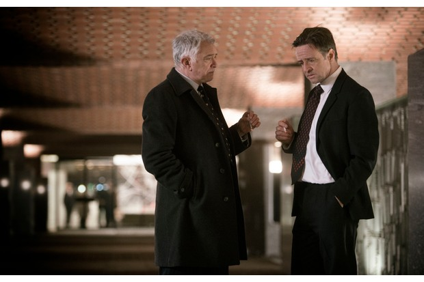 Martin Shaw and Richard Harrington in Inspector George Gently