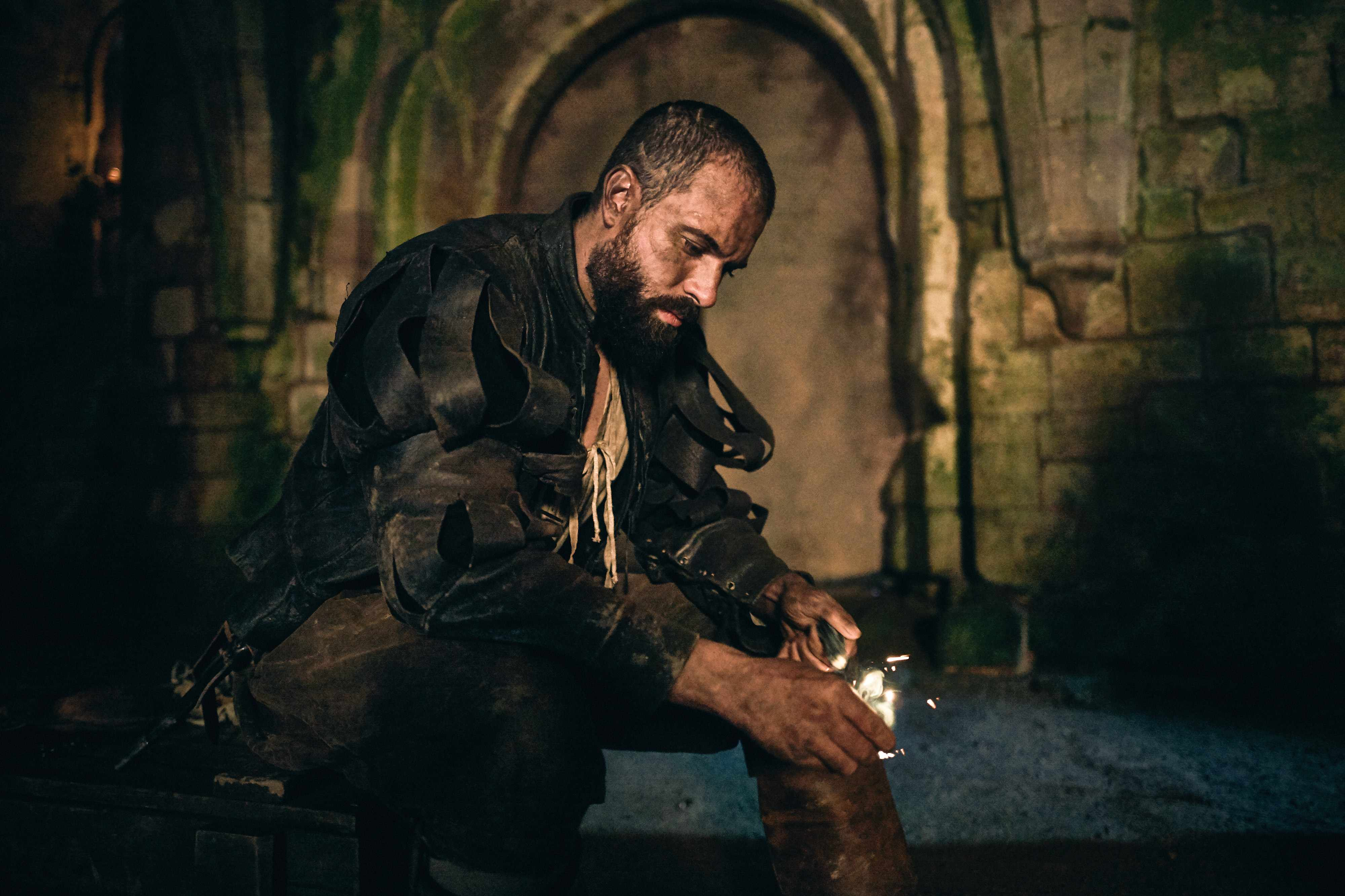 Tom Cullen as Guy Fawkes in Gunpowder (BBC, EH)