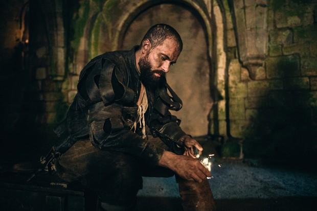 Tom Cullen as Guy Fawkes in Gunpowder (BBC, EH)