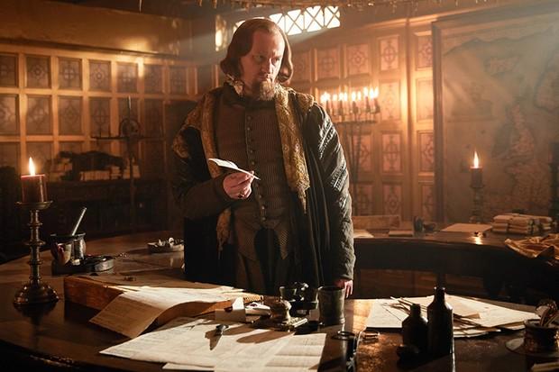 Mark Gatiss as Robert Cecil in Gunpowder (BBC, HF)