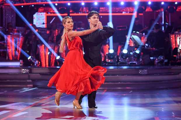 Mollie King AJ Pritchard on Strictly Come Dancing (BBC, EH)