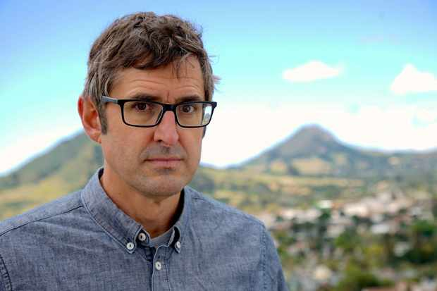 WARNING: Embargoed for publication until 00:00:01 on 29/10/2018 - Programme Name: Louis Theroux - Altered States - TX: n/a - Episode: n/a (No. n/a) - Picture Shows: *Strictly embargoed for use until Monday 29th October* Louis Theroux in California Louis Theroux - (C) BBC - Photographer: Bryony Shearmur  TL