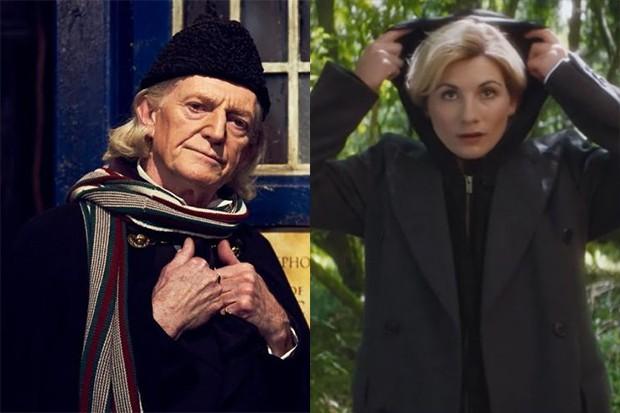 David Bradley and Jodie Whittaker (BBC HF)