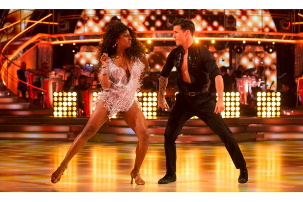 Alexandra Burke Strictly Come Dancing