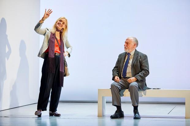 Anne-Marie Duff and Kenneth Cranham