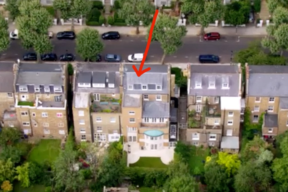 The Apprentice 2017 house in Notting Hill