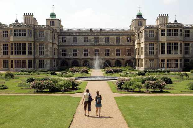 Audley End House and Gardens Back