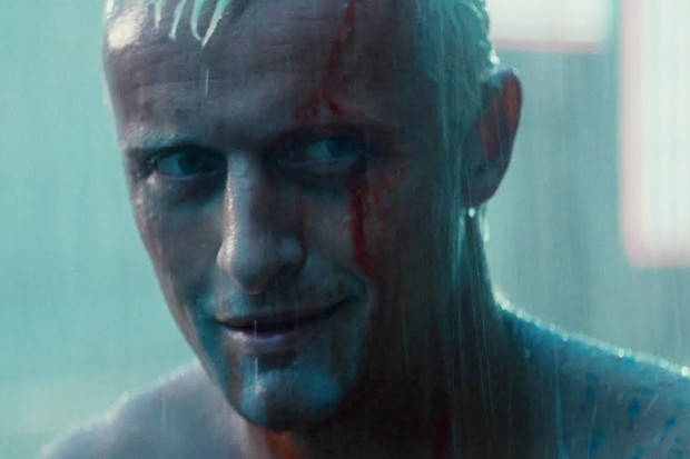 Image result for rutger hauer images bladerunner tears in the radio