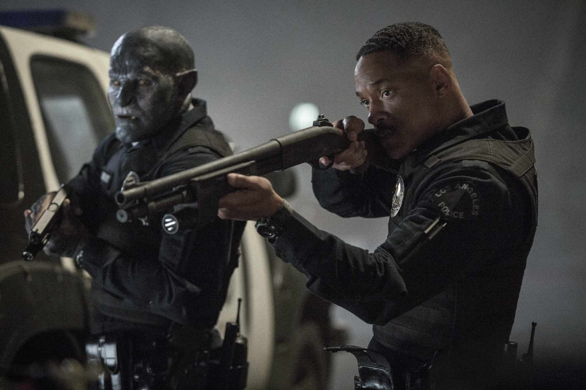 Bright, Will Smith, Joel Edgerton (Netflix, BA)