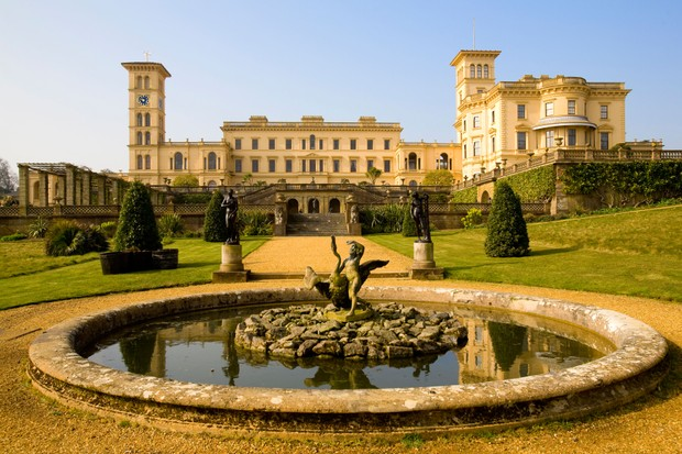 Osborne House, Victoria and Albert's summer residence on the Isle of Wight