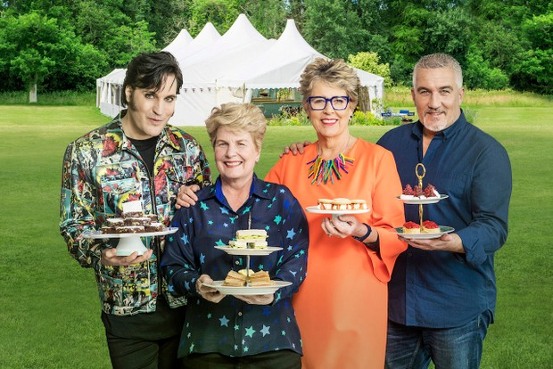 The Great British Bake Off 2018 judges and presenters