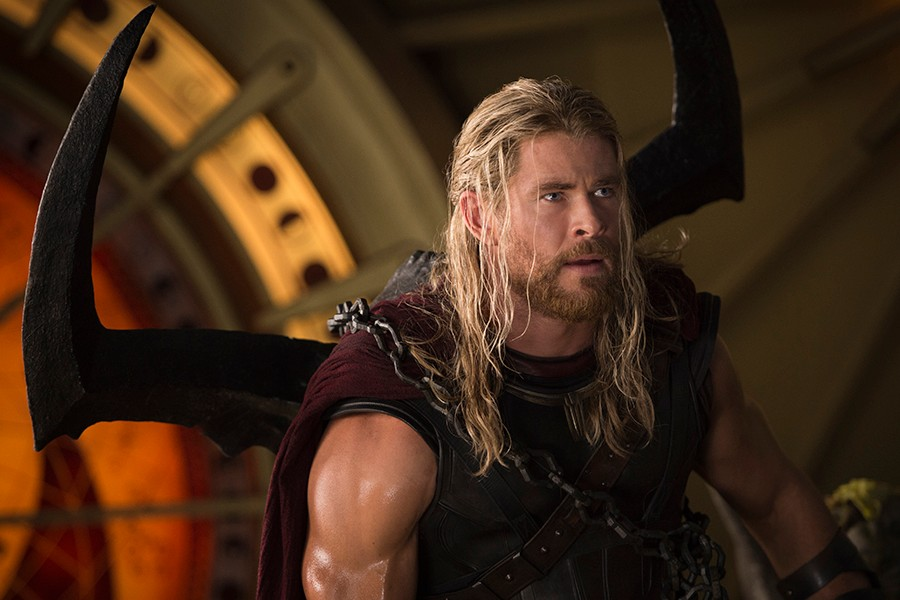 Chris Hemsworth in Thor: Ragnarok (Marvel, HF)