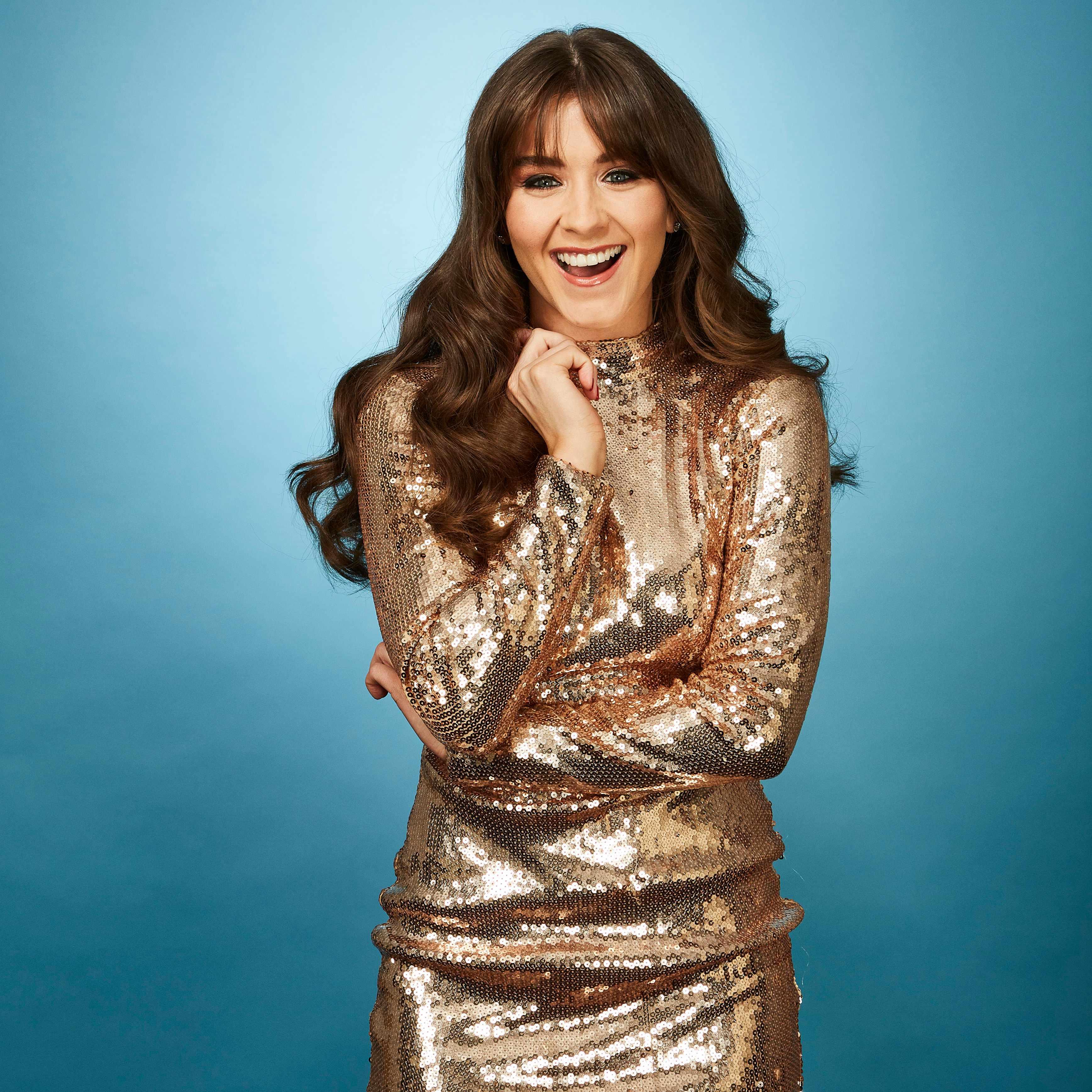 Brooke Vincent Dancing on Ice (ITV, EH)