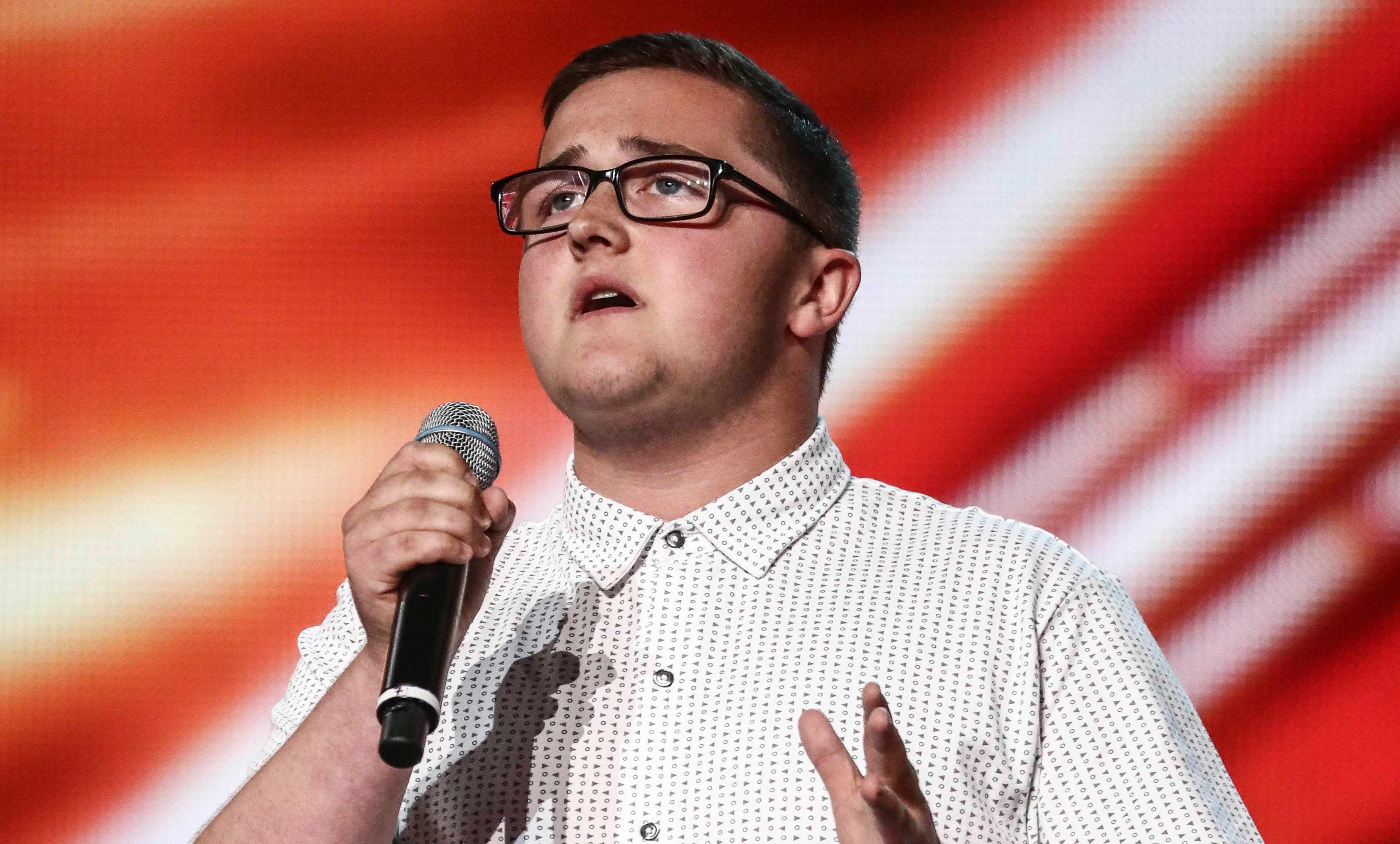 Daniel Quick on The X Factor