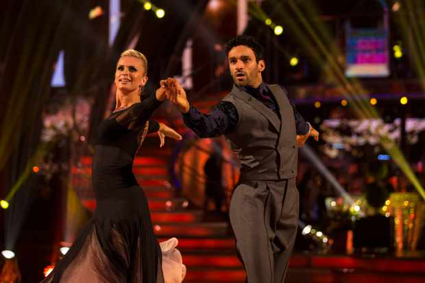 Davood Strictly dancing