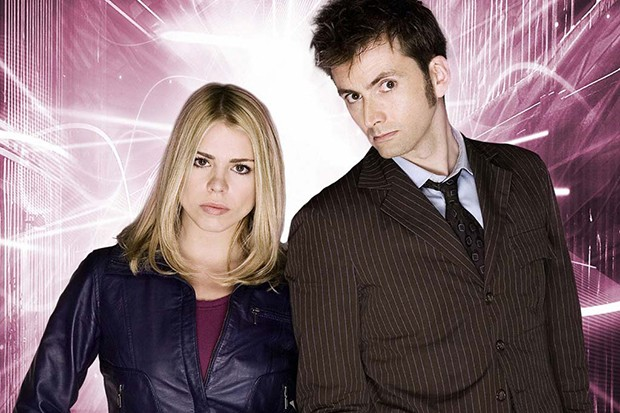 David Tennant and Billie Piper in Doctor Who (BBC)
