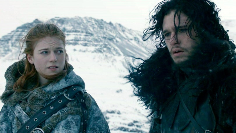 Game of Thrones Jon Snow and Ygritte 2