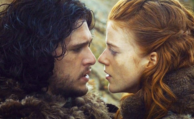 Game of Thrones Jon and Ygritte 1