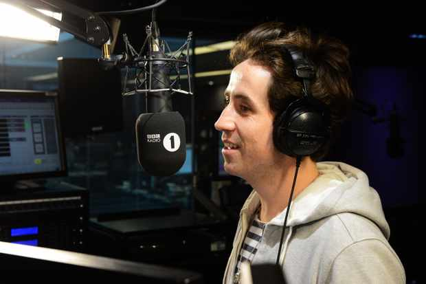 LONDON, ENGLAND - MARCH 01:  Nick Grimshaw poses for a photocall at Radio 1 on March 1, 2013 in London, England.  (Getty, BA)