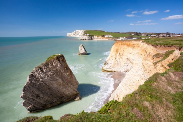 Freshwater Bay, home to eminent Victorians such as poet Alfred Tennyson and photographic pioneer Julia Margaret Cameron