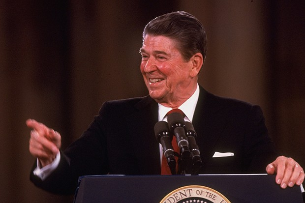 President Reagan in 1984 (Getty, HF)