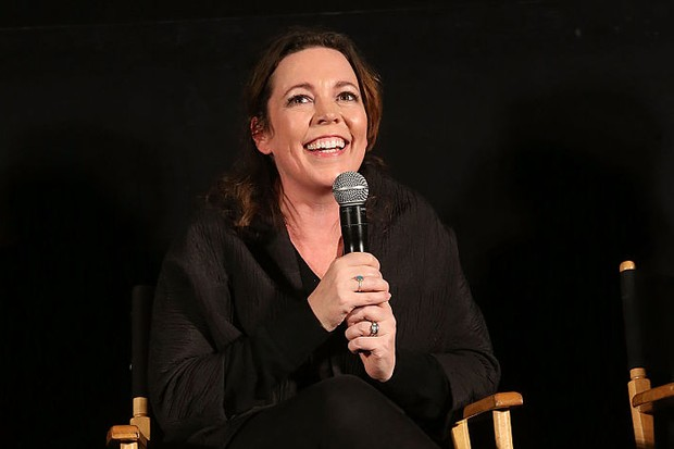 """HOLLYWOOD, CALIFORNIA - APRIL 07:  Actress Olivia Colman attends the ATAS/SAG Panel and Screening of AMC's """"The Night Manager"""" at the Egyptian Theater on April 7, 2016 in Los Angeles, California.  (Photo by Jesse Grant/Getty Images for AMC)"""