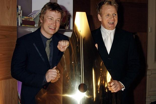 Jamie Oliver Gordon Ramsay