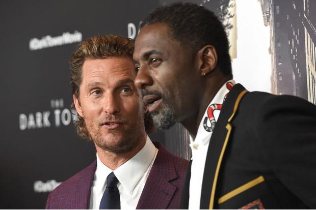The Dark Tower stars Matthew McConaughey and Idris Elba