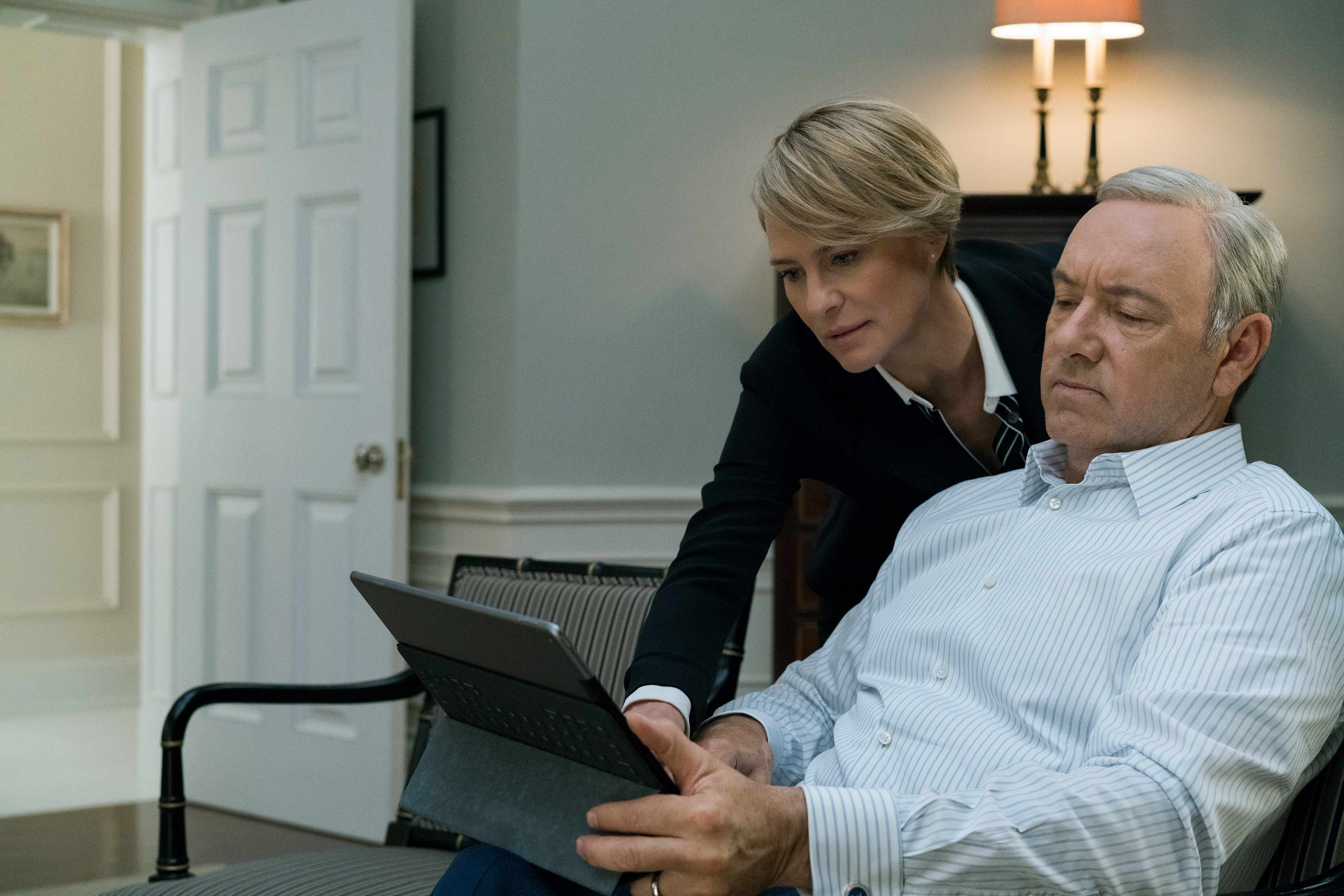 House of Cards, Kevin Spacey, Robin Wright
