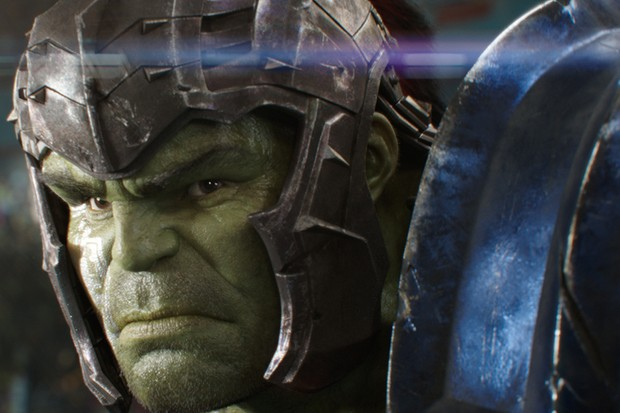 Mark Ruffalo as The Hulk in Thor: Ragnarok (Marvel, HF)
