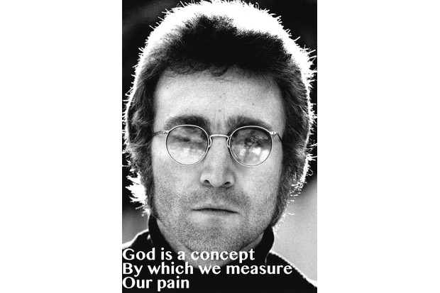 God is a concept by which we measure our pain - John Lennon
