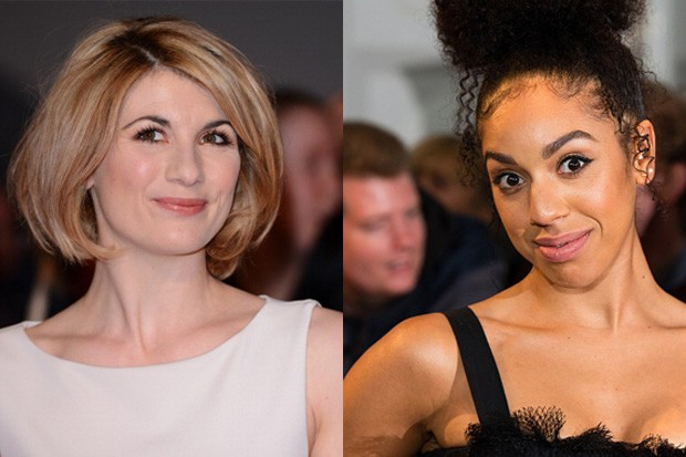Jodie Whittaker and Pearl Mackie