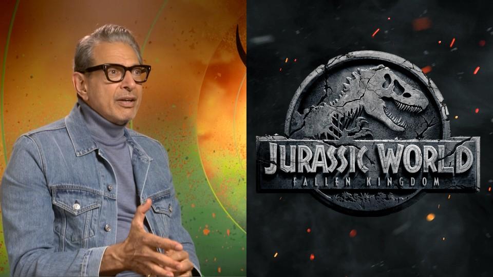 Jeff Goldblum, star of Jurassic World: Fallen Kingdom (Universal/Radio Times, HF)