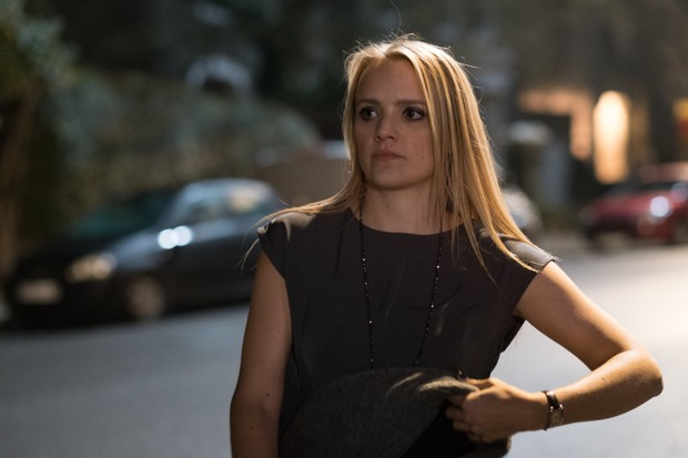 Laura Aikman as Andrew Earlham's new date Charlotte in Liar