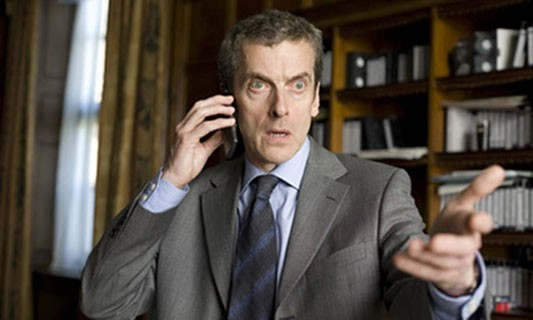 Peter Capaldi as Malcolm Tucker in The Thick of It