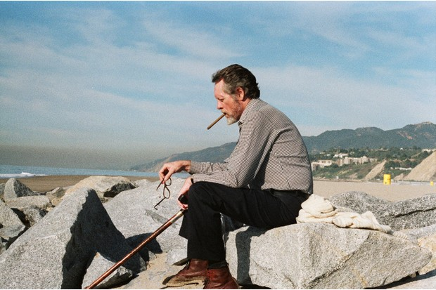 McGoohan - Santa Monica Beach 1983. CREDIT - Chris Rodley