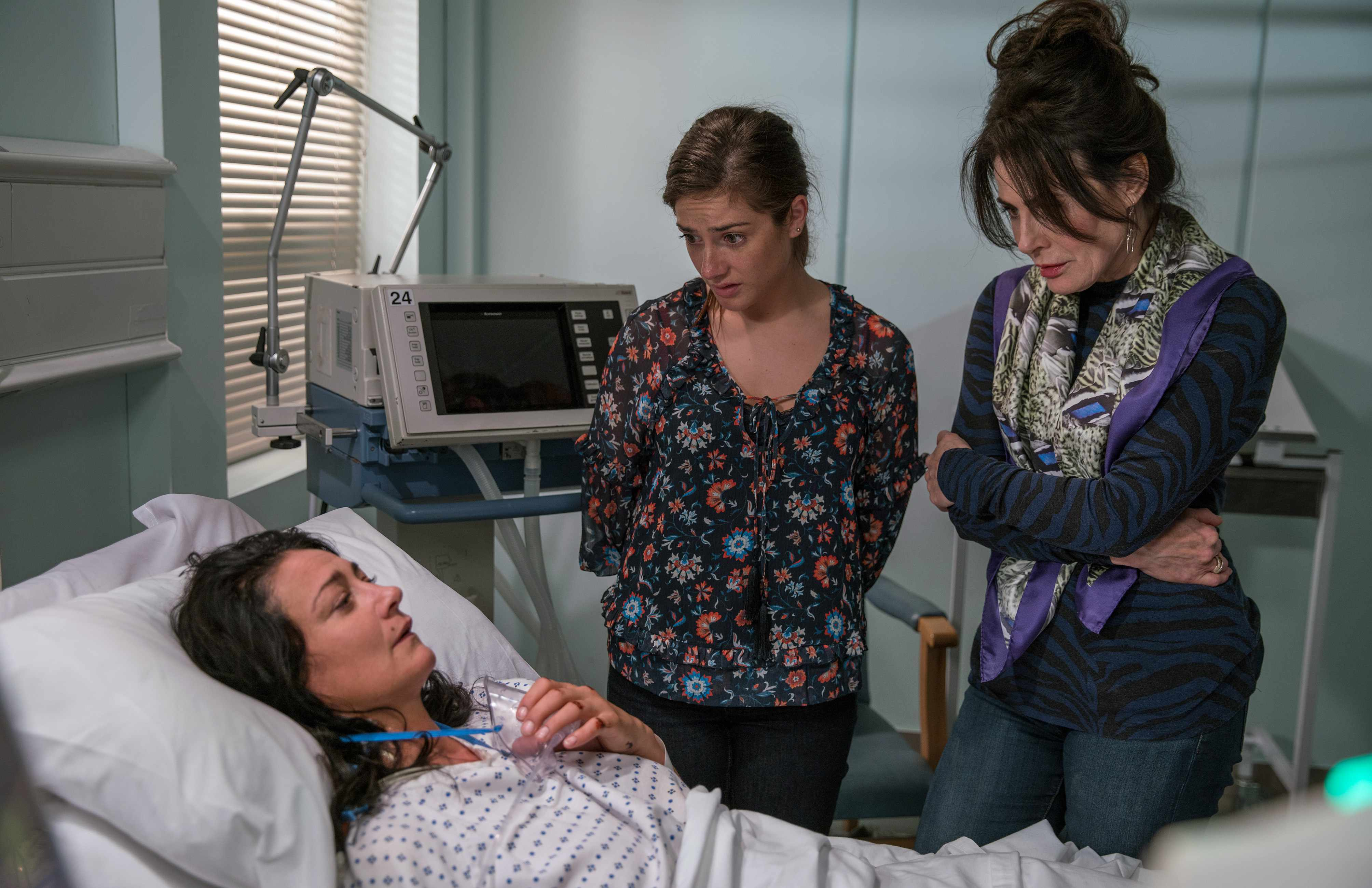 Moira tells victoria and faith the truth about Emma