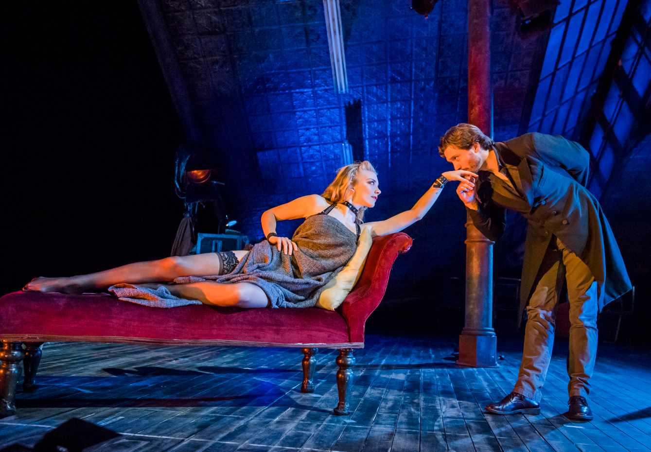 Natalie-Dormer-and-David-Oakes-in-Venus-in-Fur-at-Theatre-Royal-Haymarket.-Credit-Tristram-Kenton