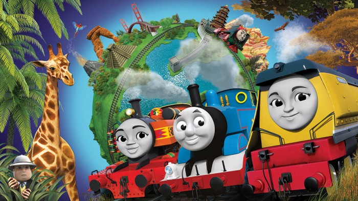 New look Thomas the Tank engine