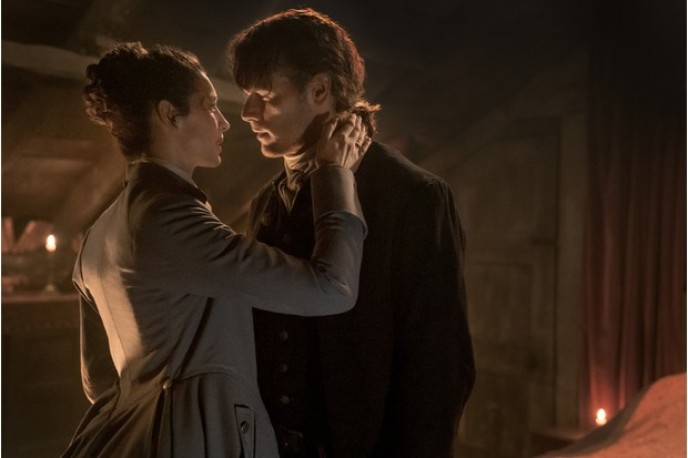 Claire and Jamie Outlander Season 3 Episode 6 (Sony)