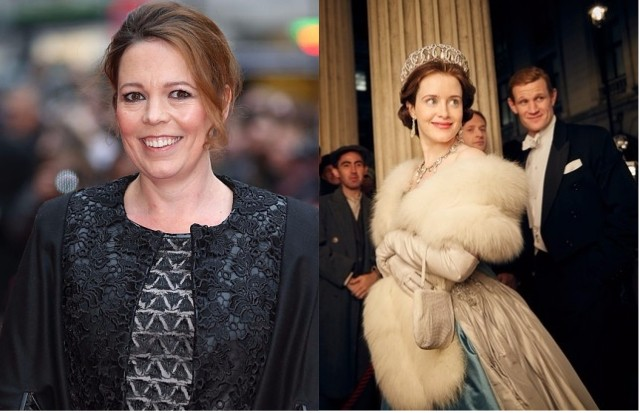 Olivia Colman will star as the Queen in The Crown