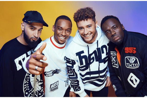 Rak-Su on The X Factor 2017