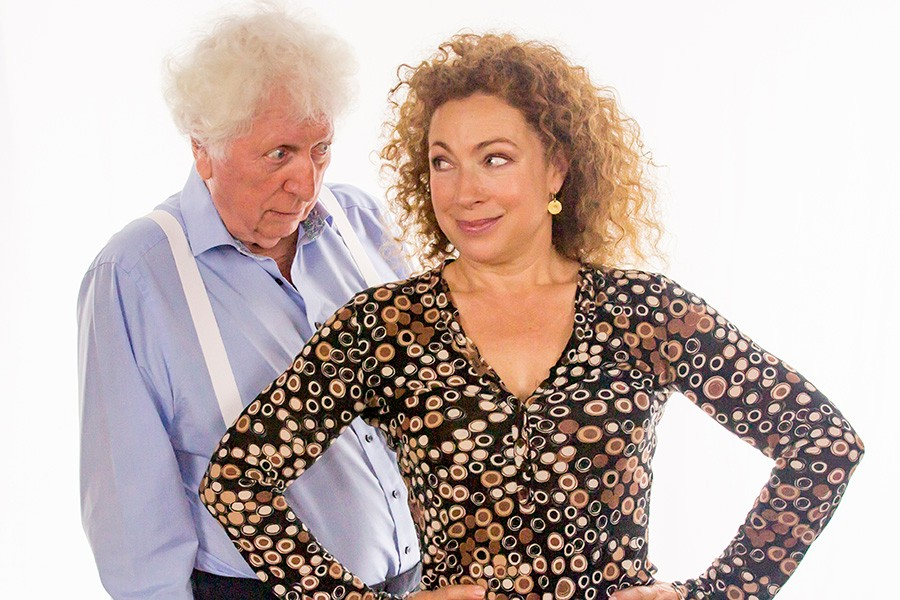 Alex Kingston and Tom Baker (Big Finish, HF)