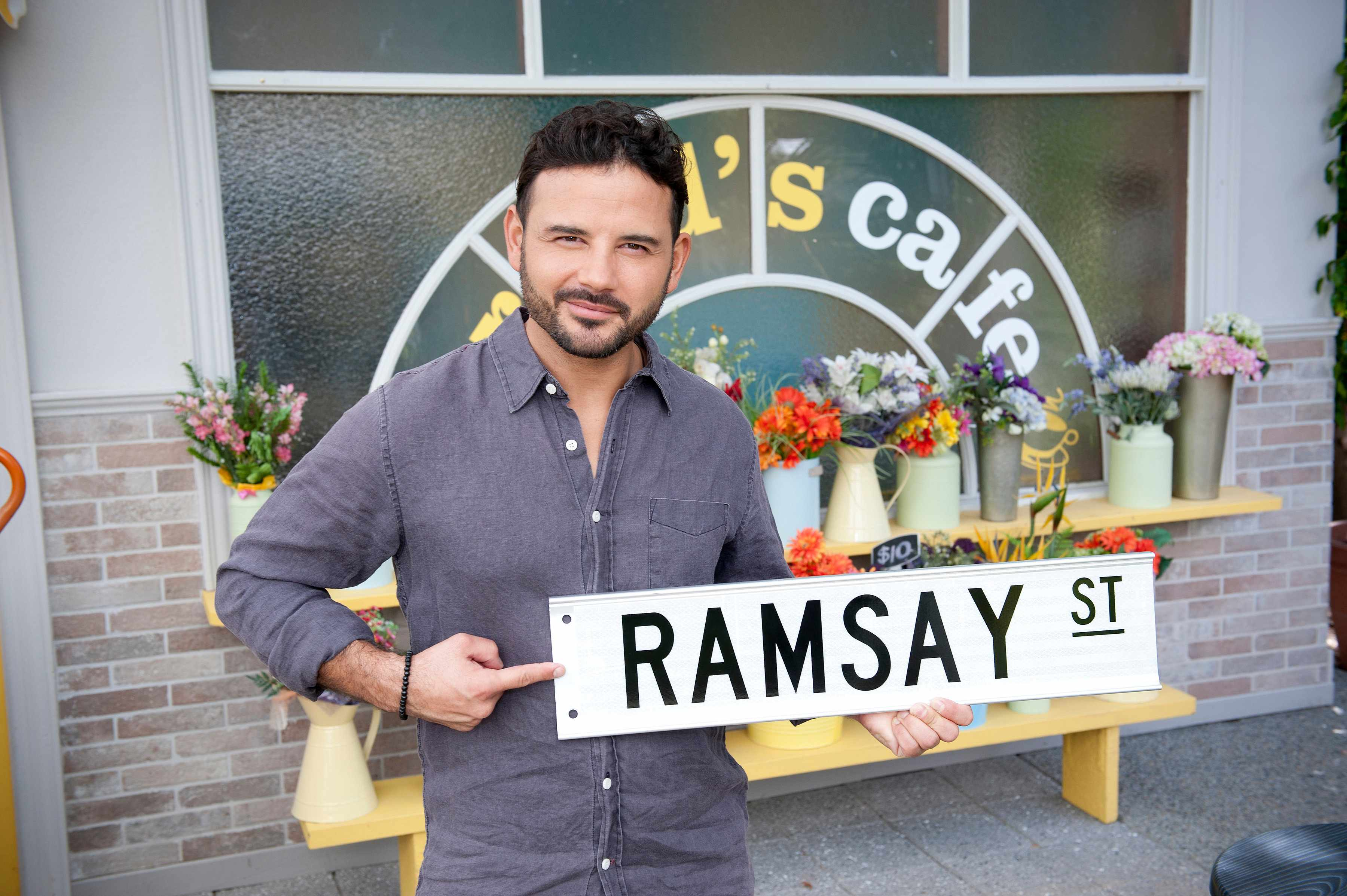 Ryan Thomas plays Rafael Humphreys in Neighbours (2017)DSC_4537