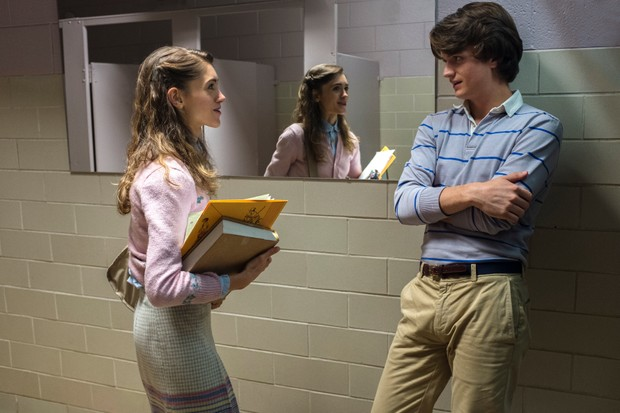 Nancy and Steve in Stranger Things (Netflix, JG)