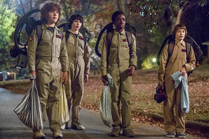 Stranger Things (Netflix, HF)