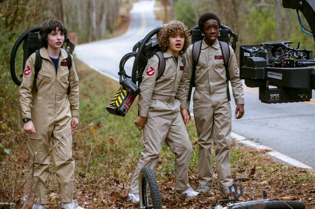 Stranger Things behind the scenes (Netflix, JG)